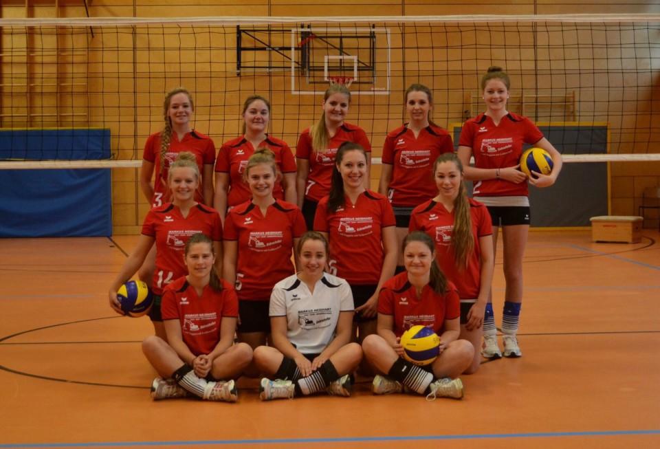 Damen Mannschaft Volleyball 2015/2016