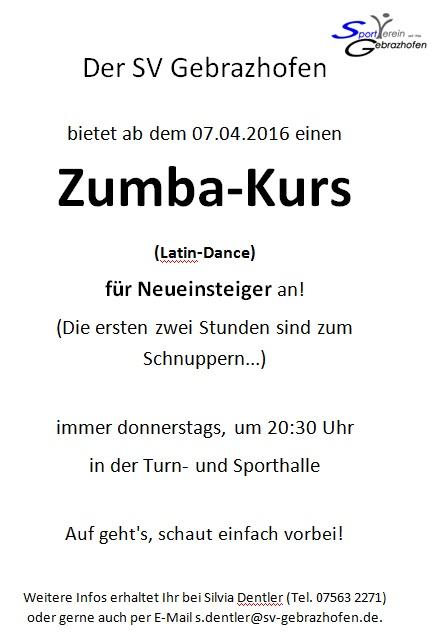 Zumba Homepage