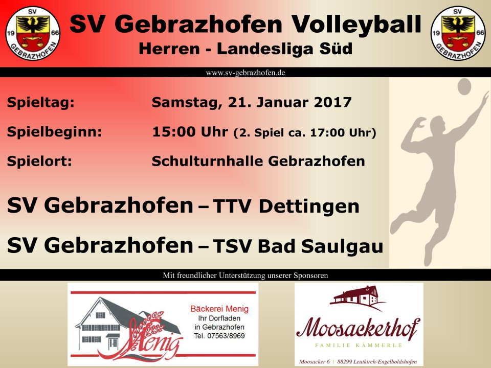 VolleyballHeimspiel21012017